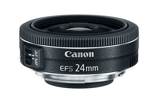 Canon release a new 24mm EF-S STM pancake prime for their crop sensor DSLR's